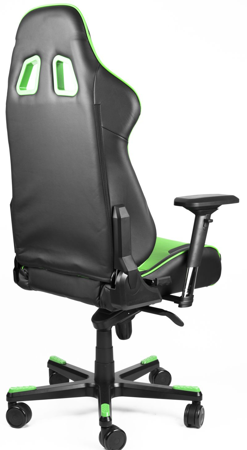 Dxracer Pc Gaming Chair Dxracer King Series Black Green Gaming Chair
