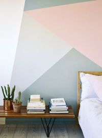Modern Geometric Wall Art Is The Thing That Your Home Is ...