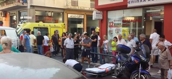 Τροχαίο ατύχημα με σοβαρό τραυματισμό στο Βύρωνα