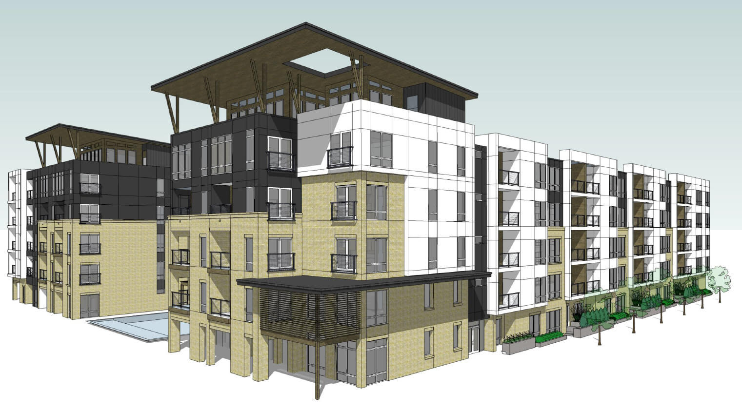 24 Unit Apartment Building Plans Museum Reach Project Gets Conceptual Approval Virtual