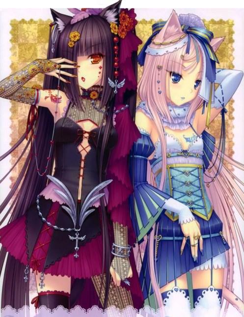 Dark Cozy Girl Wallpaper The Art Of Being Neko Virtual Neko In Second Life