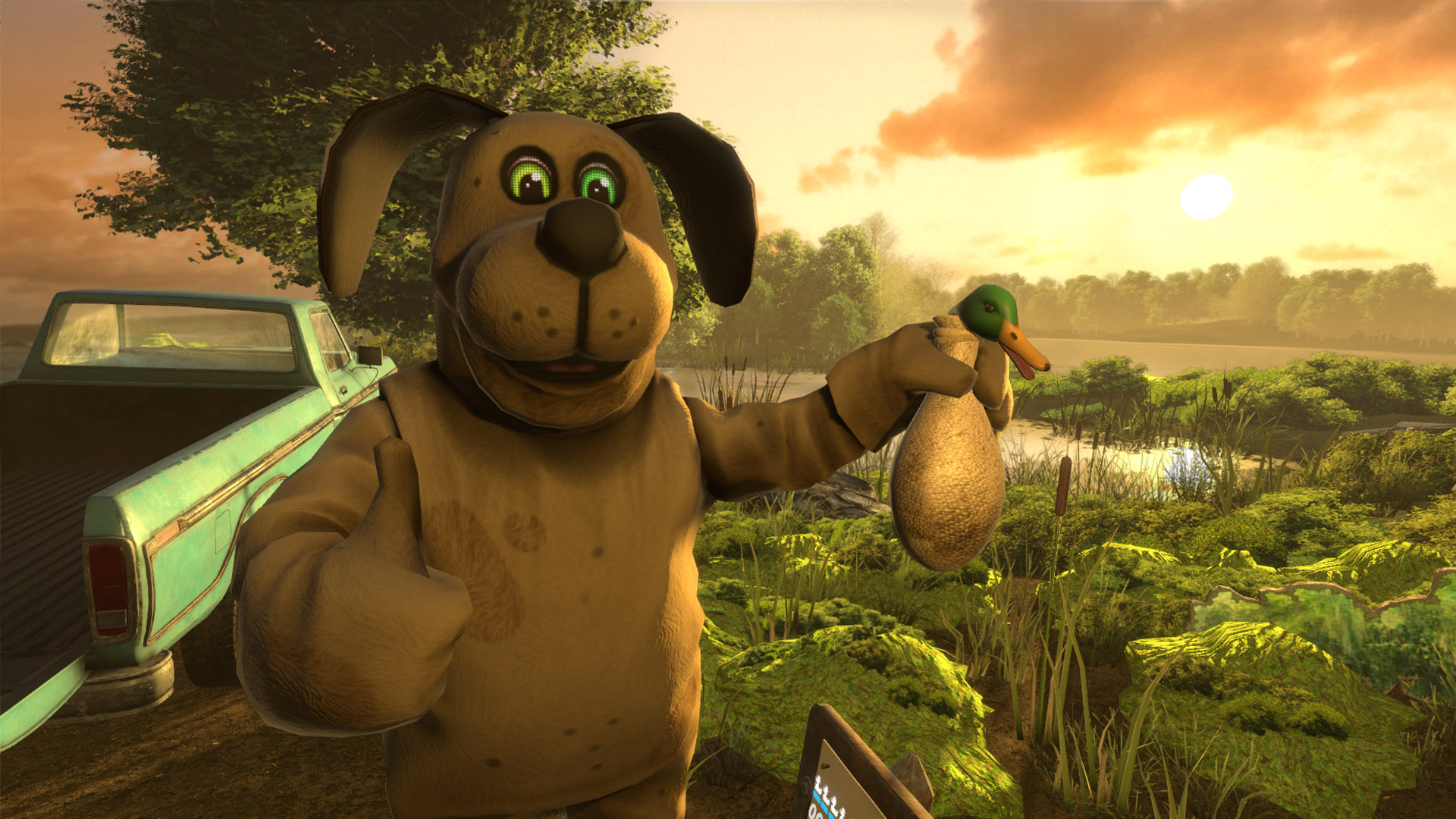 Love Animation Wallpaper Duck Season Vr Comes Out Next Week Virtual Reality Times