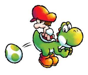 Y así, cariño, es como vienen al mundo los personajes de Nintendo