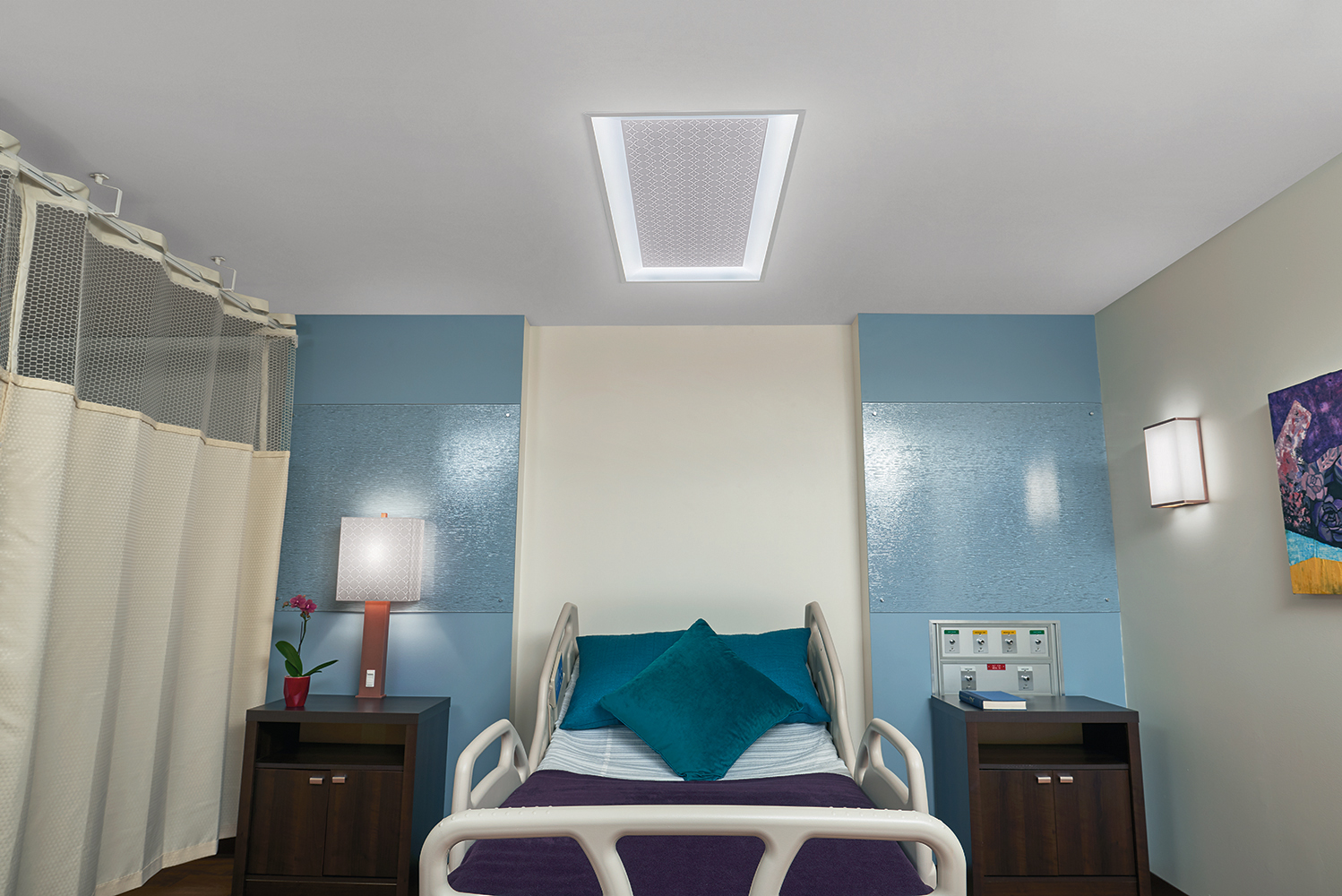 Over Bed Lights Healthcare Lighting Luminaires For Healthcare Design