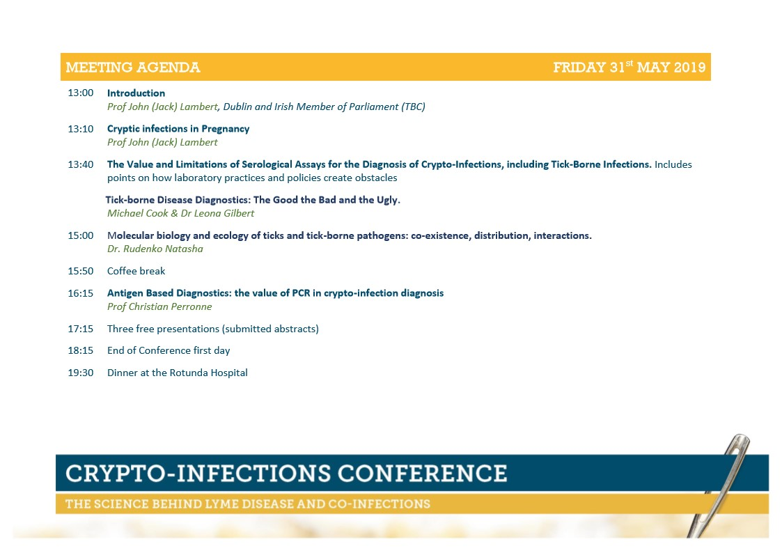 Prevention-maison.fr Crypto Infections Conference Visa Vis Symposiums