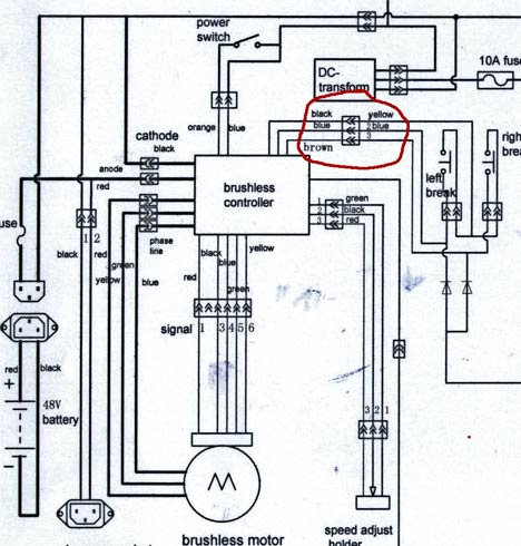 XB-500 Controller Wiring V is for Voltage electric vehicle forum