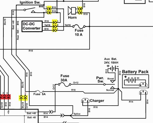 Wiring Diagram For 2003 Club Car 48v Wiring Diagram