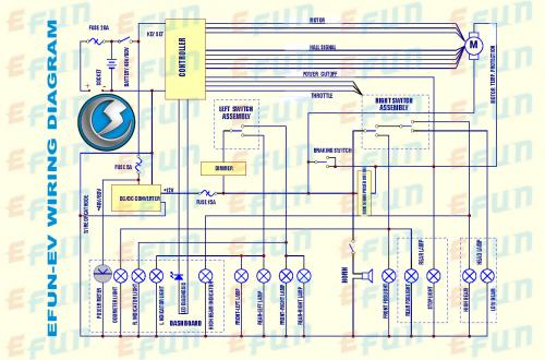 Need A Basic Electric Motorcycle Diagram V is for Voltage electric