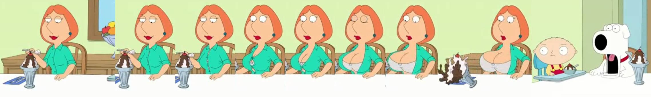 Family guy breast expansion