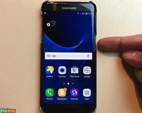 Turn on Turn Off or Restart a Samsung Galaxy S7 Edge - VisiHow