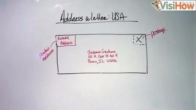 Address a Letter to an American - VisiHow