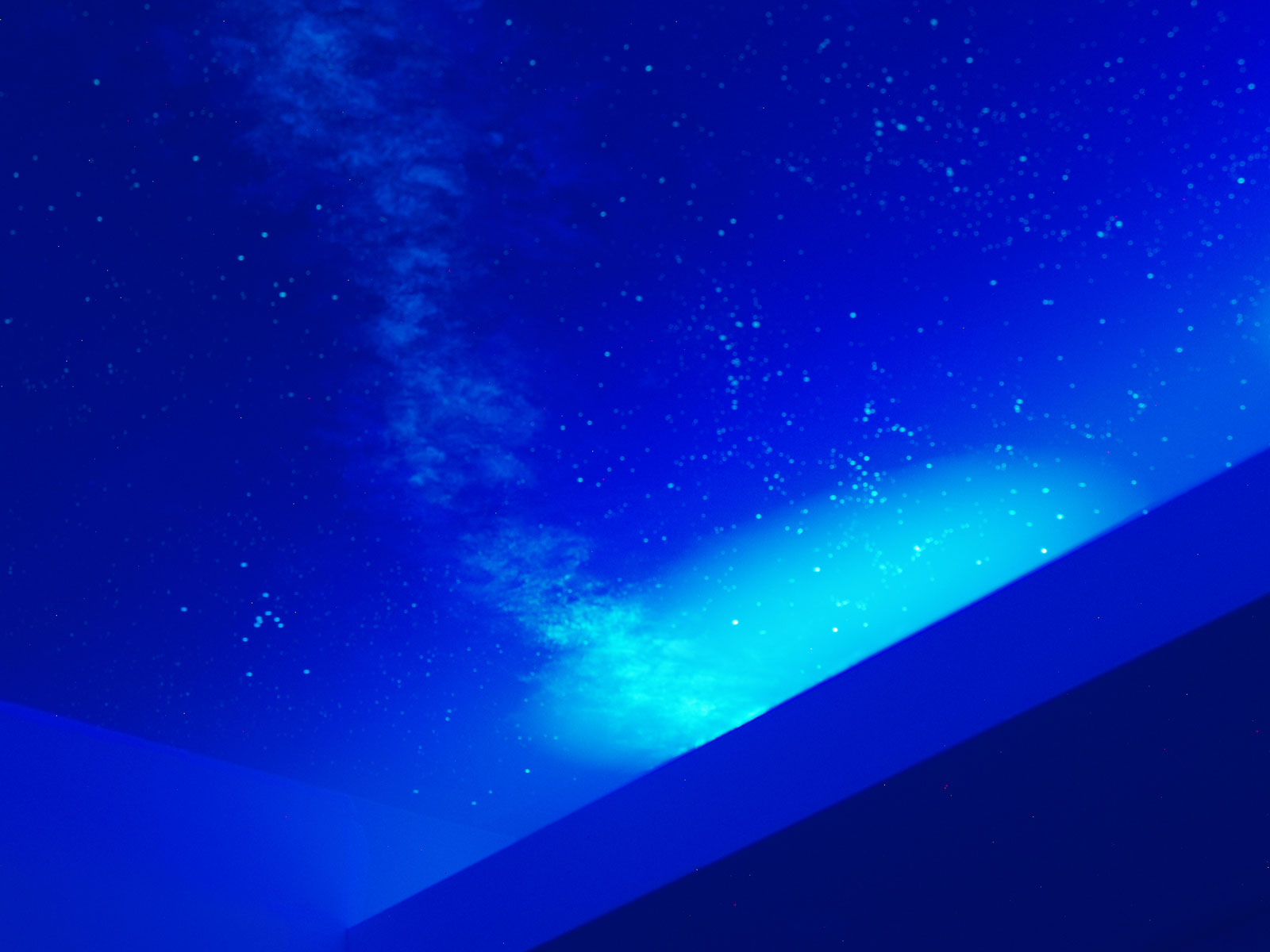 Night Light With Stars On Ceiling Outer Space Murals By Visionary Mural Co Glow In The Dark