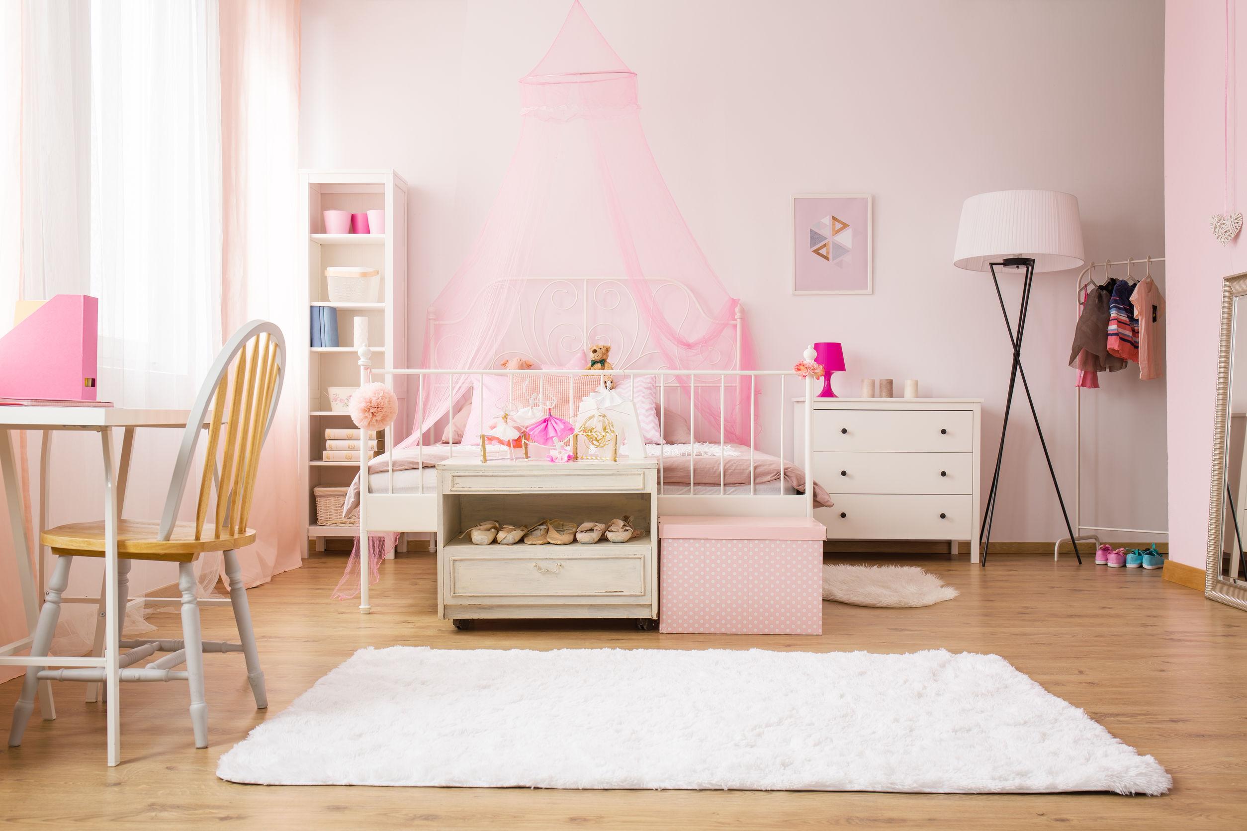 Chambre Rose Pastel | Dcoration Chambre Rose Et Gris Interesting ...