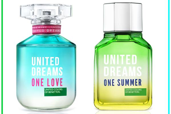 ONE SUMMER, ONE LOVE, FRAGANCIAS UNITED DREAMS DE BENETTON1