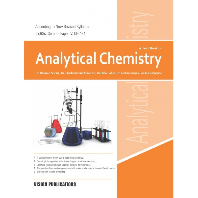 Analytical Chemistry, ty bsc - analytical chemistry examples