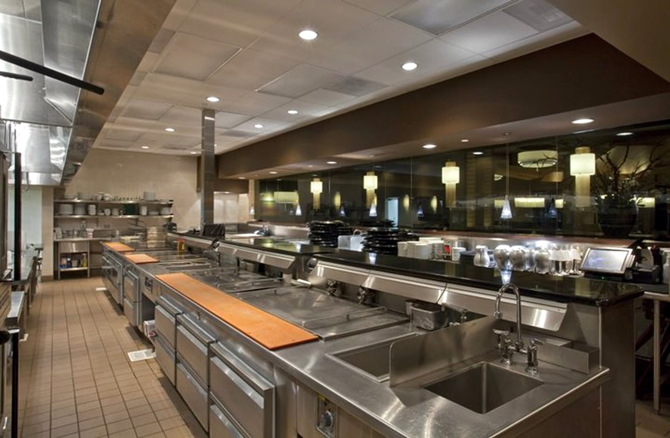 Modern Restaurant Kitchen Design Our Work Visiontec Enterprises Ltd Commercial Kitchen