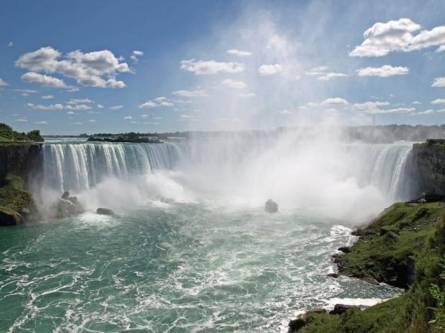 Iguazu Falls Wallpaper Etats Unis Les Chutes Du Niagara Www Visite Usa Fr