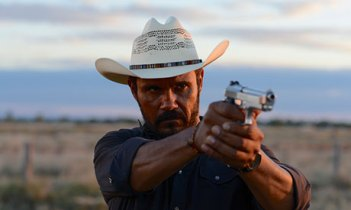 The Indigenous detective in Mystery Road, played by Aaron Pedersen.