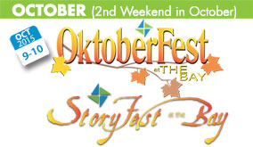 Oktoberfest at the Bay and StoryFest at the Bay, Fairfield Bay, AR