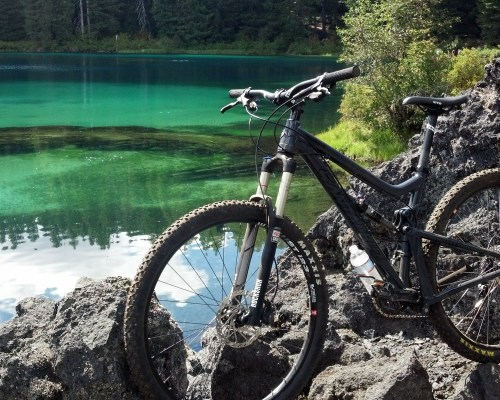 Full Suspension Mountain Bikes - Santa Cruz Tall Boy 29er Rental Bikes