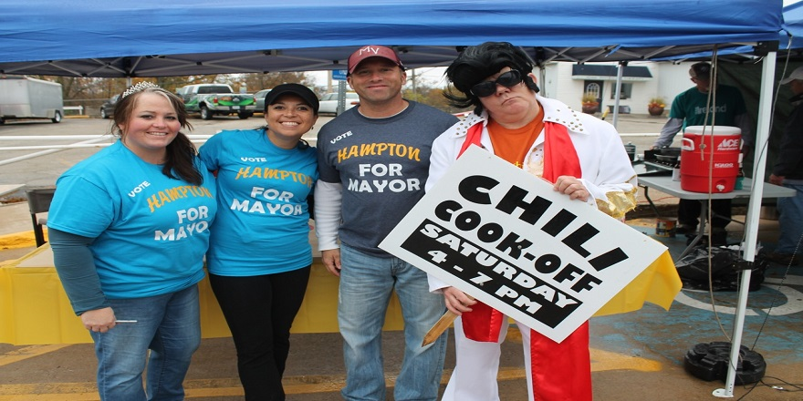 FI -- Hampton for Mayor Winner 2015 Mount Vernon-Lisbon Chili Cook-off