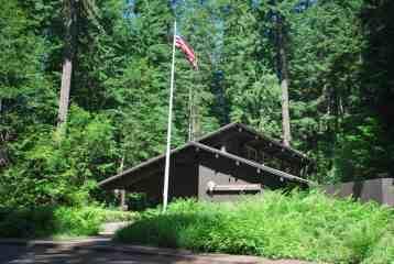 The Ohanapecosh Visitor Center