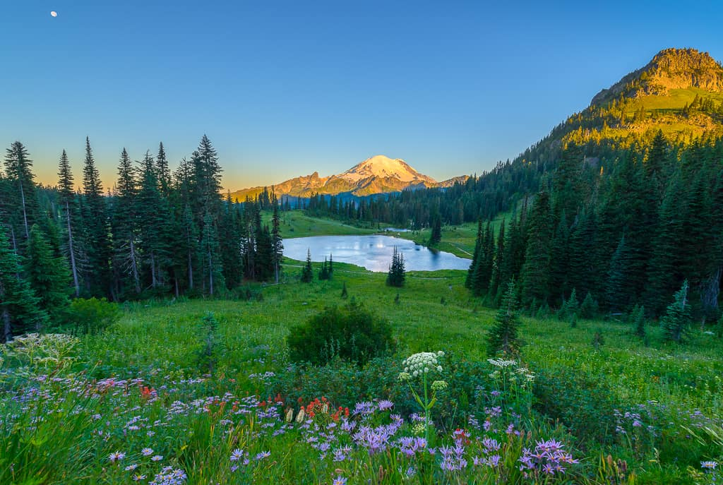 Fall Mountain Wallpaper Chinook Pass Summit Amp Tipsoo Lake Visit Rainier