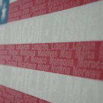 US Flag words