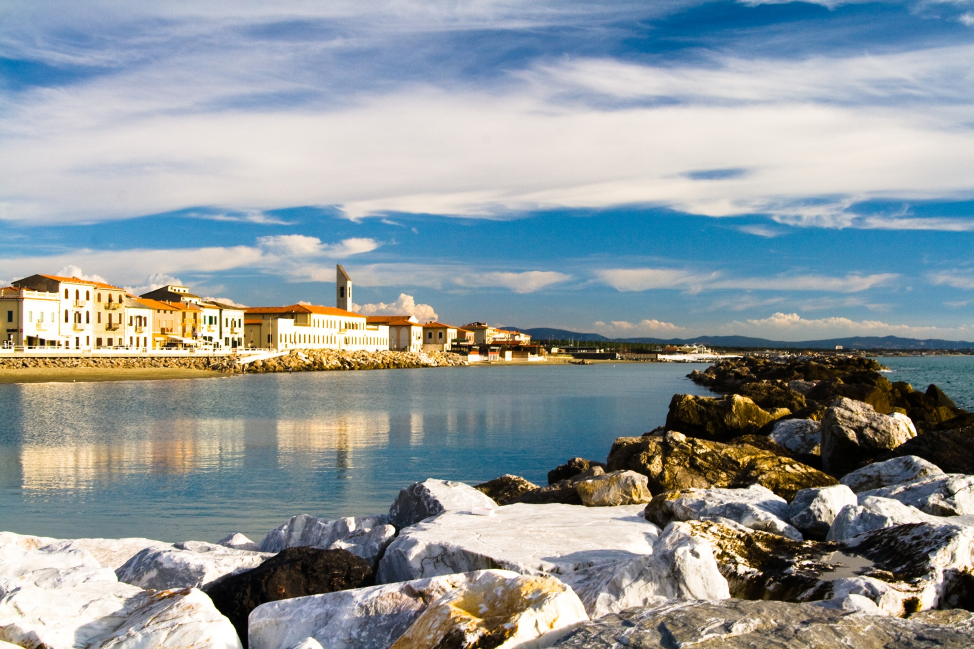 Bagno Italia Marina Di Pisa Marina Di Pisa A Beach Town Not Far From The Leaning Tower