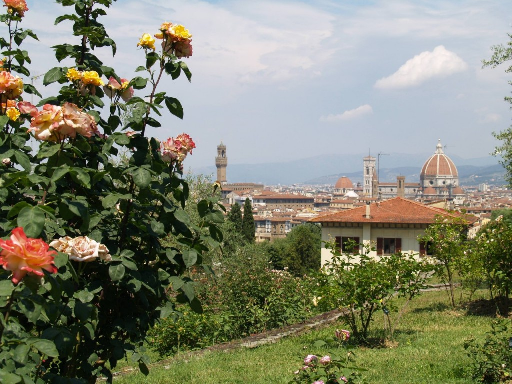 Giardino Firenze The Rose Garden In Florence Visit Tuscany
