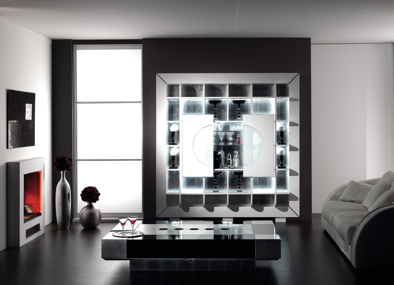 Barschrank Design Luxury Wall Bar Cabinet Produced In Italy By Vismara Design