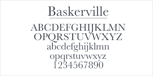 A Brief History of Typeface Styles and Classifications Visual