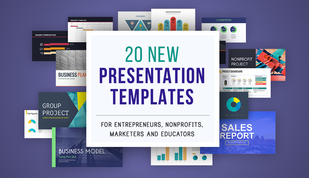 20 Beautiful Presentation Themes for Business, Marketing, Nonprofit