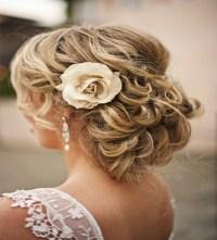 Curly Low Bun Wedding Hairstyles | www.pixshark.com ...