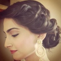 Indian Bridal Hairstyles For Short Length Hair - HairStyles