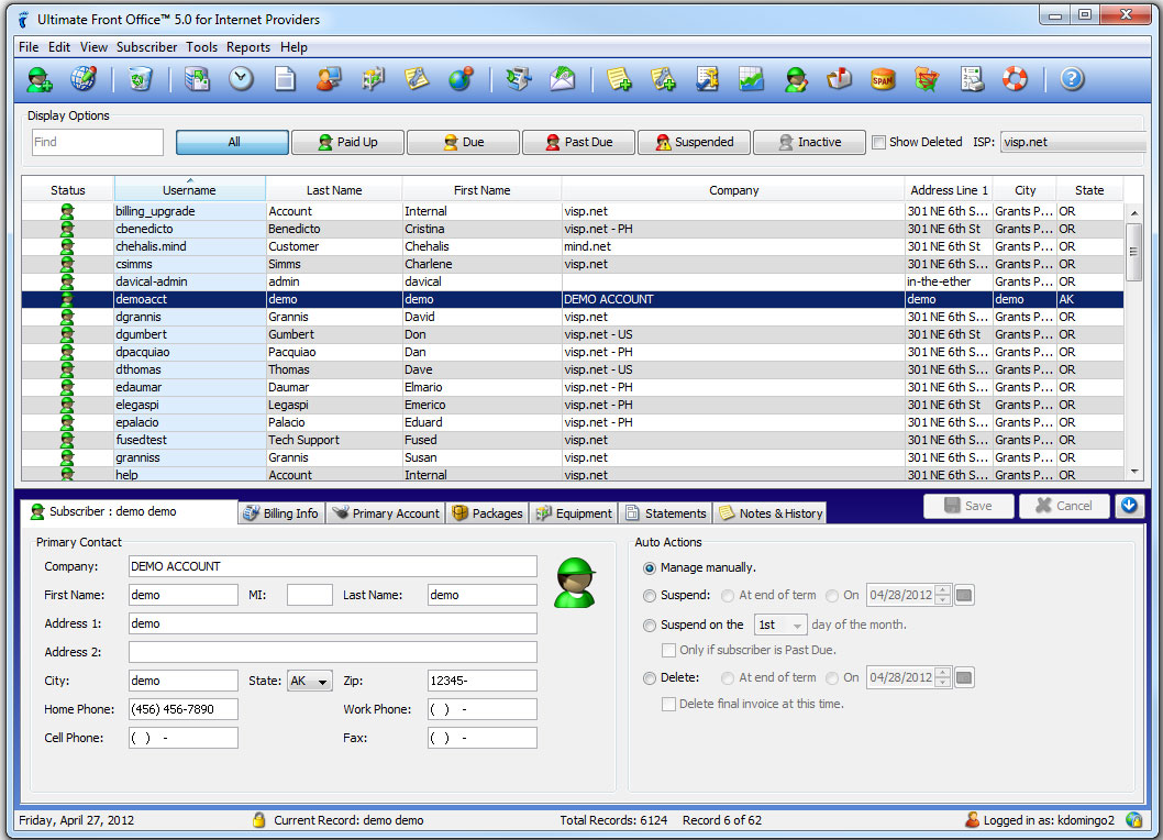 Billing Software Invoicing Software For Your Business Billing And Automation Software Wisp Billing Software