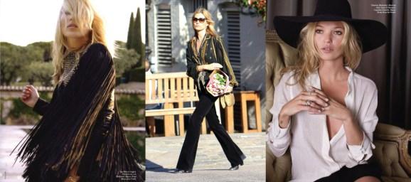 Bohemian Style Type - Kate Moss