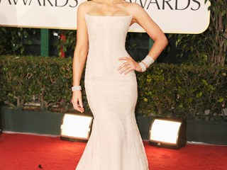 Kate Beckinsale, in Roberto Cavalli