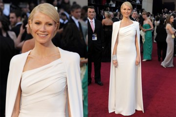 Gwyneth Paltrow in Tom Ford at the Oscars 2012 Red Carpet