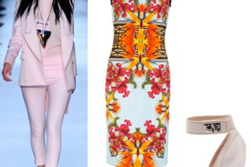 Beautiful Pastels & Prints from Givenchy Spring and Resort 2012