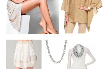 Michael Kors Dress, Rebecca Taylor Skirt, Michael Kors Tunic, VT Luxe Textured Necklace, VT Luxe Infinity Scarf, Jimmy Choo Sandal, Celine Handbag