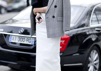 Black and White at Paris Fashion Week | Photo by Greg Kessler