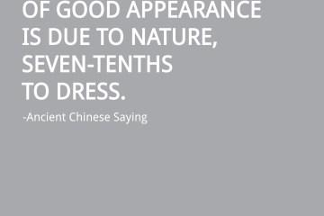 Chinese-Saying-About-Dress