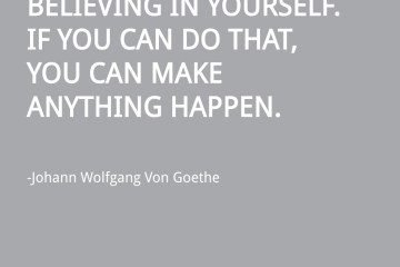 Goethe Magic Quote