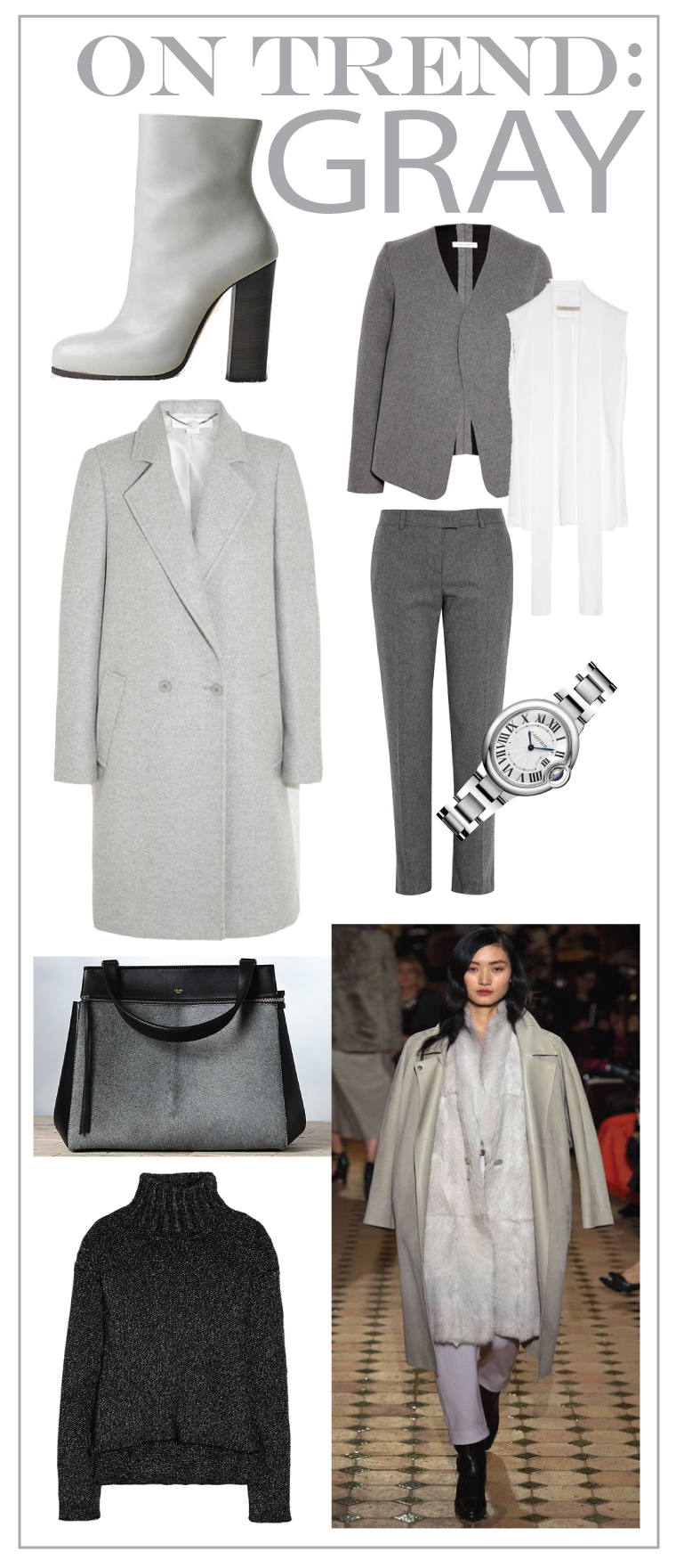 On Trend Gray Visual Therapy