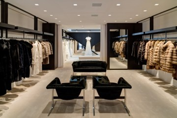 The new J. Mendel boutique at 787 Madison Avenue