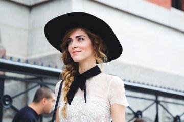 New_York_Fashion_Week_Spring_Summer_15-NYFW-Street_Style-Chiara_Ferragni-Hat-Lace_Skirt-1
