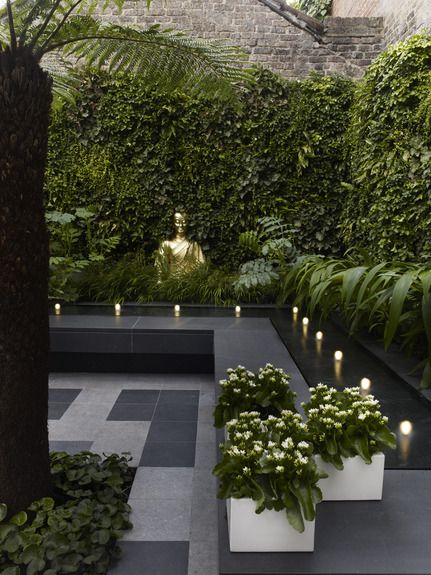 courtyard garden design ideas roof gardens and landscape designs - petit jardin d interieur