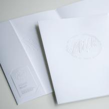 BC Dairy Association presentation folder design