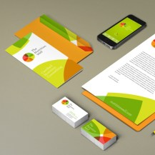 The Nutrition Well branding